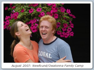 August 2007: Newfound/Owatonna Family Camp