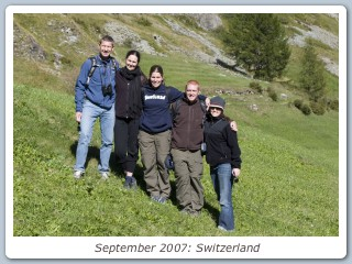 September 2007: Switzerland